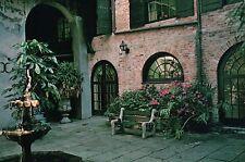 Brulatour Courtyard, 520 Royal Street, French Quarter, New Orleans LA - Postcard