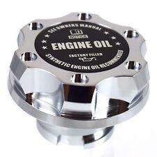 Chrome Oil Cap Filler Racing Billet Black Engine Oil Fits LS1 LS2 LS3 LS6
