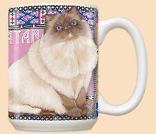 Himalayan Cat Ceramic Coffee Mug Tea Cup 15 oz
