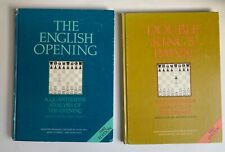 Lot: 2 Chess Openings English & Double King 1982 Imprint Capablanca *g*
