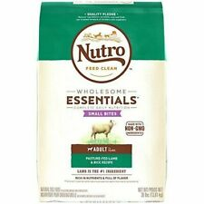 Nutro Wholesome Essentials Adult Dry Dog Food Flavor Lamb Small Bites 30lb