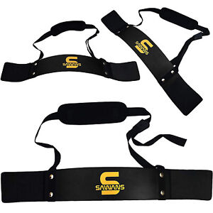 Arm Bicep Isolator Curve Chest Gym Blaster Fitness Support Strap Adjustable Grip