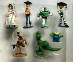 Disney Pixar Toy Story PVC Collectible  7 Figurines Set Toy Kids
