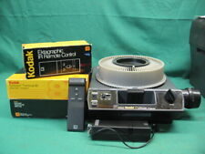 KODAK Medalist AF Carousel Projector + Two 80 Count Trays + IR Remote Control