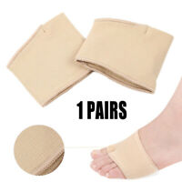 2pcs Metatarsal Gel Pads Forefoot Insoles Sore Ball of Foot Pain Relief Support