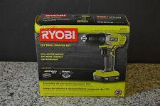 Ryobi 12-Volt Lithium-Ion 3/8 in. Cordless Drill/Driver Kit - HJP004L