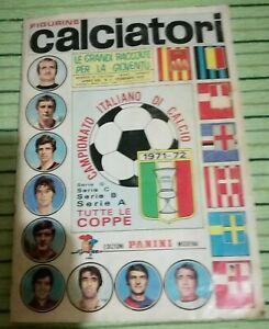 album calciatori panini 1971-72 molto buono 490 fig. circa
