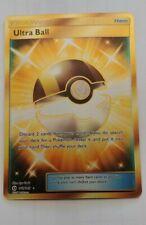 Pokemon card - Ultra Ball 161/149 - Base Set Sun & Moon NM/Mint - Secret Rare