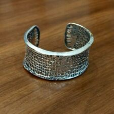 Silver Cuff Bracelet Silpada B1625 Sterling