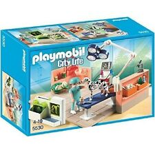 Playmobil City Life Rif 5530 NUOVO,Clinica Veterinaria Animali,Fuori produzione