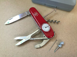 Victorinox Timekeeper Red Cellidor