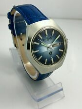 NOS Citizen vintage automatic blue dial watch new old stock, MINT 80's stock !!