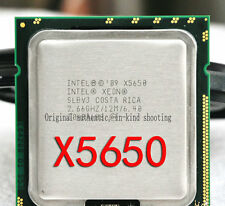 Intel Xeon X5650 / 2.66GHz /12MB /QPI 6.40GT/s (SLBV3) 1366 Server Processor