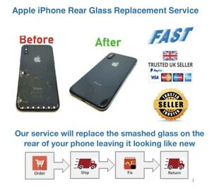 Apple iPhone 8 / 8 Plus Rear Glass Replacement Repair Service ✅