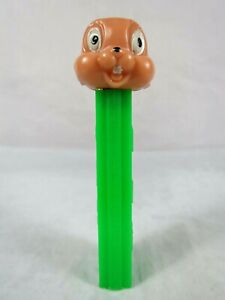 PEZ 1978 Thumper No Feet Dispenser Green Stem Pat 3.410 Yugoslavia
