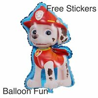Large PAW PATROL BALLOONS Marshall Toys BIRTHDAY PARTY SUPPLIES AUS SELLER Dog