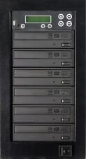 MediaStor #a42 1-5, 5 Target 24X DVD Duplicator, Copy USB Flash Thumb to DVD