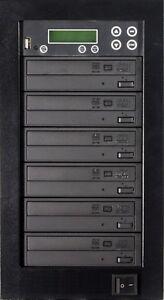 MediaStor #a42 1-5, 5 Target 24X DVD Duplicator, Copy USB Flash Thumb to DVD