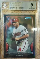 2013 Bowman Chrome Black Refractor Adam Eaton RC #d/15 BGS 9 RARE!!!