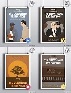 THE SHAWSHANK REDEMPTION - Minimalist Movie Poster Print Posteritty