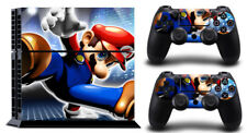 Mario GO COOL DECAL PROTECTIVE STICKER for SONY PS4 CONSOLE CONTROLLER