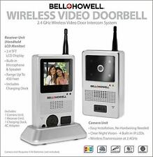 Bell + Howell Wireless Video Camera Door Doorbell Night Vision Intercom System