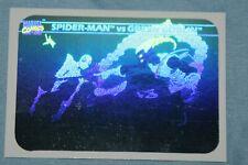 Spider-Man Vs Green Goblin 1990 Impel Marvel Universe Hologram #Mh-5