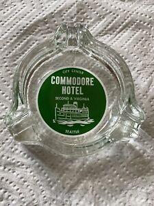Vintage Commodore Hotel Ashtray Seattle Washington City Center