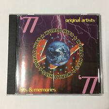 World Hits '77 Original Artists CD _Alessi ,Jam, Status Quo, 10 CC..    (1887)