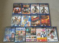 Playstation 2 PS2 Games Bundle job lot wwf prince Persia medal honour lego star