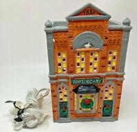 Dept 56 The Original Snow Village Apothecary #50768 W/ Original Box No Bulb 3059