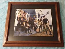 The Walking Dead SIGNED Cast Photo Autographed Season 2 Beautifully Framed