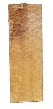 "Quilted Maple🍁Top Figured Billet 21.5""x 7.25""x .9""KD Big Leaf Billet Kiln Dried"