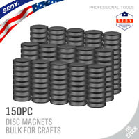 150 & 50 Pcs Strong Ceramic Industrial Magnets DIY Hobby Craft Round Disc