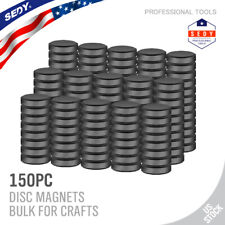 150 Amp 50 Pcs Strong Ceramic Industrial Magnets Diy Hobby Craft Round Disc