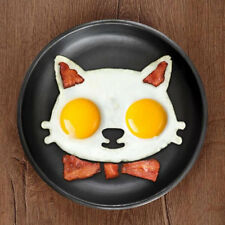 Kitchen Silicone Cat Egg Shaper Cat Fried Eggs Mould Cute Interesting Mould AUYW