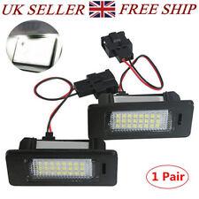 24 LED Light Lamp Bulbs License Number Plate For Audi A4 B8 Q5 A5 A6 A7 C7 TT UK