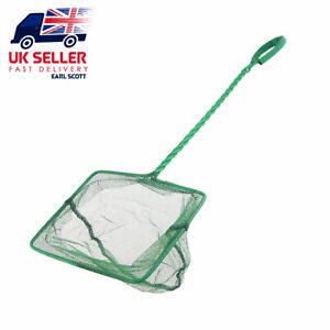 "Durable Fishing Catching  Net Small  6""  Goldfish Fish Pond Care Aquarium UK"