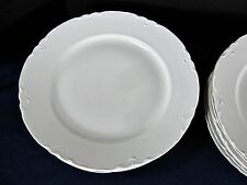"""O& EG Royal Austria 10 Dinner Plate/White ~9.75""""/VG Condition/Scalloped Edge"""