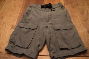 """Boy Scout Green Official Uniform Shorts ADULT XS 26"""" Waist Webelos BSA C940w.1s"""