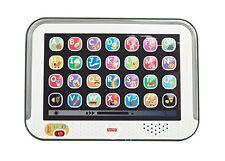Kinder Mattel Fisher-Price Lernspaß Tablet Grau Elektronisches Spielzeug NEU