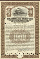 The Cleveland Short Line Railway Company > 1911 Ohio Railroad stock certificate