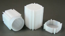10 CoinSafe Square Coin Tubes for Morgan,Peace,Eisenhower Silver Dollars 38.1mm