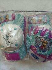 Disney Frozen Girl Kids Knee Elbow Pads Gloves Anna Elsa Olaf Protective Gear