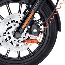 Harley-Davidson Disc Lock with Reminder Cord - Orange 94873-10