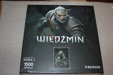 WITCHER PUZZLE GERALT NEW COLLECTION SERIES 1 NEW SEALED