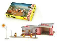 Station service SHELL échelle HO 1/87 - Faller 109217