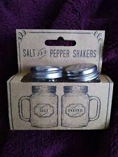 Jones hogar y regalo de Sal y Pimienta Shakers Retro Nuevo Regalo 6x5x3.5cm