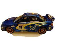 Saico 1/32 Scale Model Car 33000MB - 2002 Subaru Impreza WRC