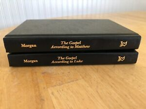 G. Campbell Morgan Lot of 2–The Gospel According to Matthew; According to Luke